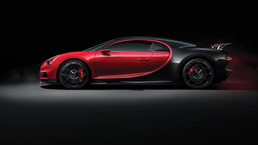 More dynamic Bugatti Chiron Sport enters Geneva 2018 in devilish trim