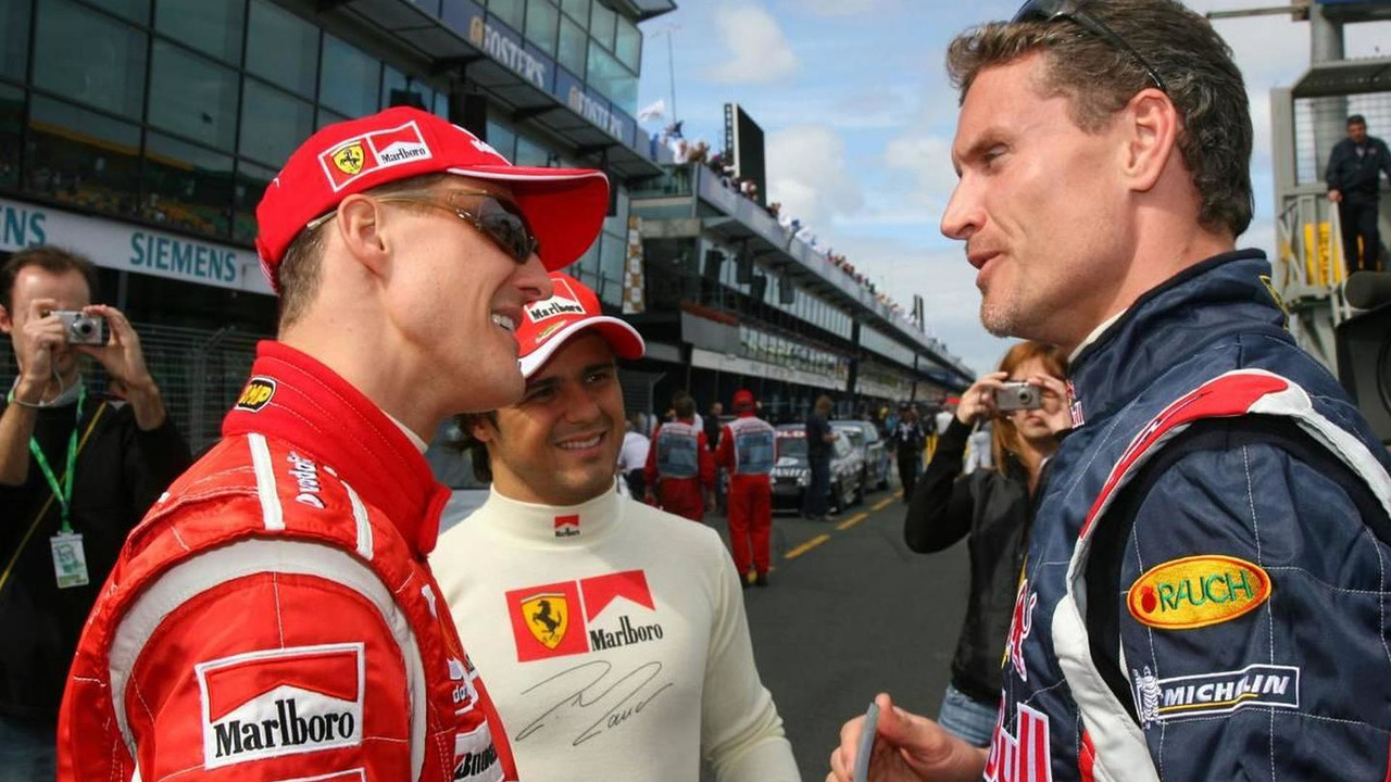David Coulthard & Michael Scumacher