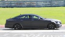 2011 Mercedes CLS 63 AMG spy photo from Nurburgring