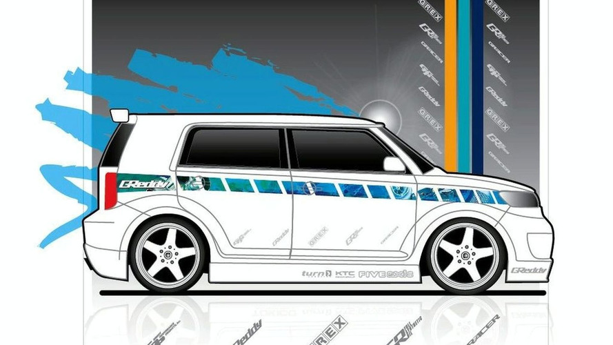Scion xB by Greddy at SEMA
