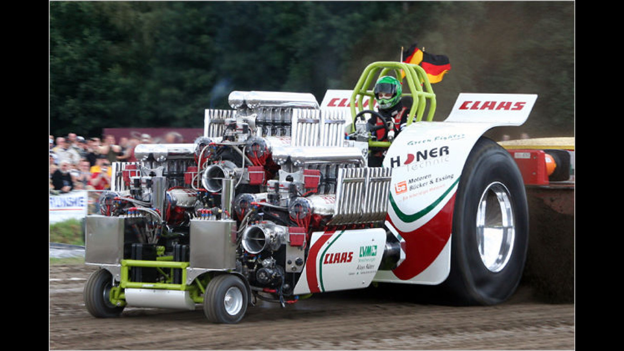 Tractor-Pulling: Green Fighter
