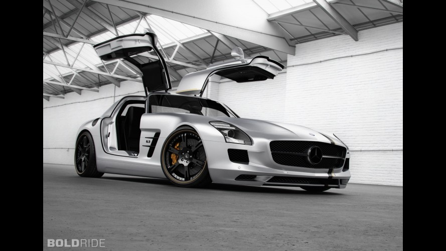 Wheelsandmore Mercedes-Benz SLS Silver Wing