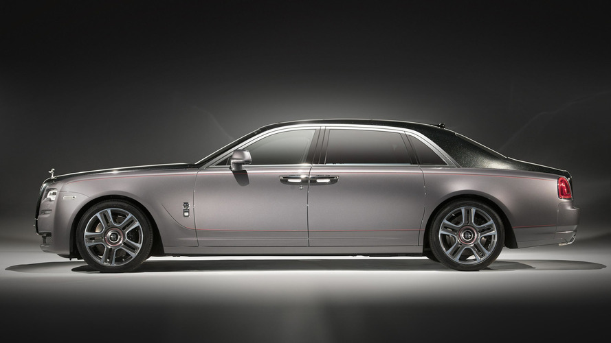 Rolls-Royce Ghost Elegance has diamond-encrusted paint