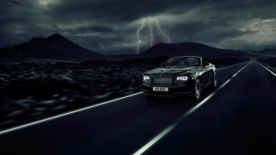 Rolls-Royce Dawn Goes Dark With Black Badge Treatment