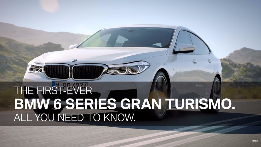 Watch BMW Explain The 6 Series Gran Turismo In This Video