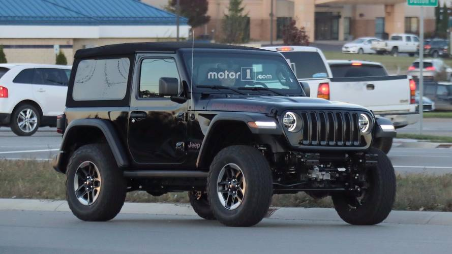 2018 Jeep Wrangler Range Spy Photos