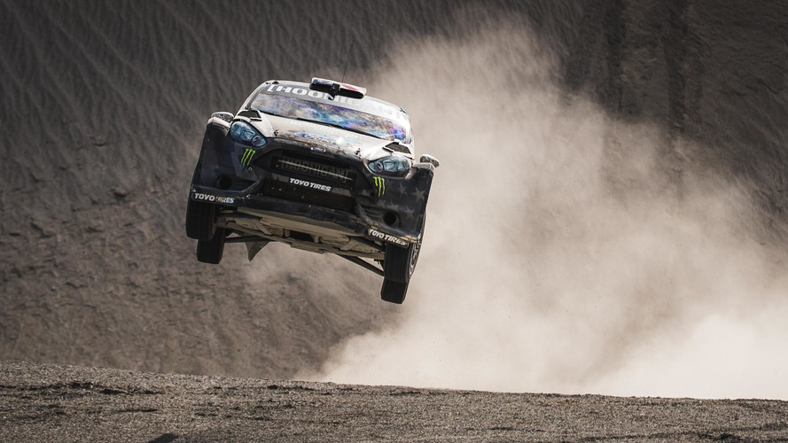 Ken Block Goes Sideways Again, This Time In The Utah Desert