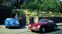 356 A Coupé (MY 1956) and 356 Speedster (MY 1955), in spring 1956
