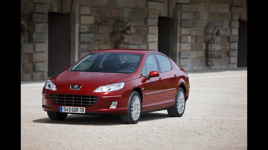 Peugeot 407 Restyling