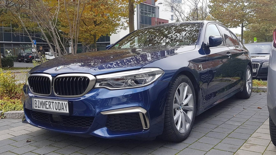 How does the 2017 BMW M550i xDrive look in real life?