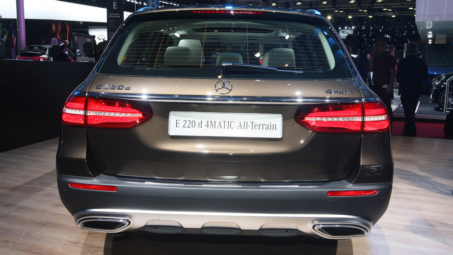 Mercedes-Benz E200 All-Terrain 2017 Mondial de l'Automobile