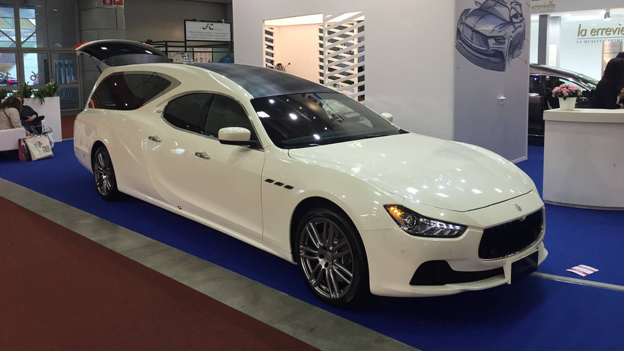 Maserati Ghibli hearse is an elegant way into the afterlife