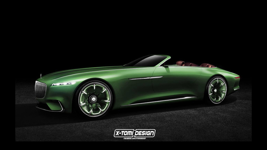 Vision Mercedes-Maybach 6 goes roofless in digital design exercise