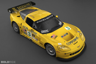 Chevrolet Corvette C6-R Race Car