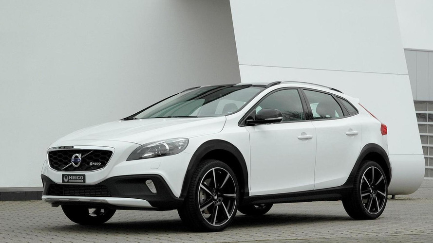 Heico Sportiv gives the Volvo V40 Cross Country a rugged look