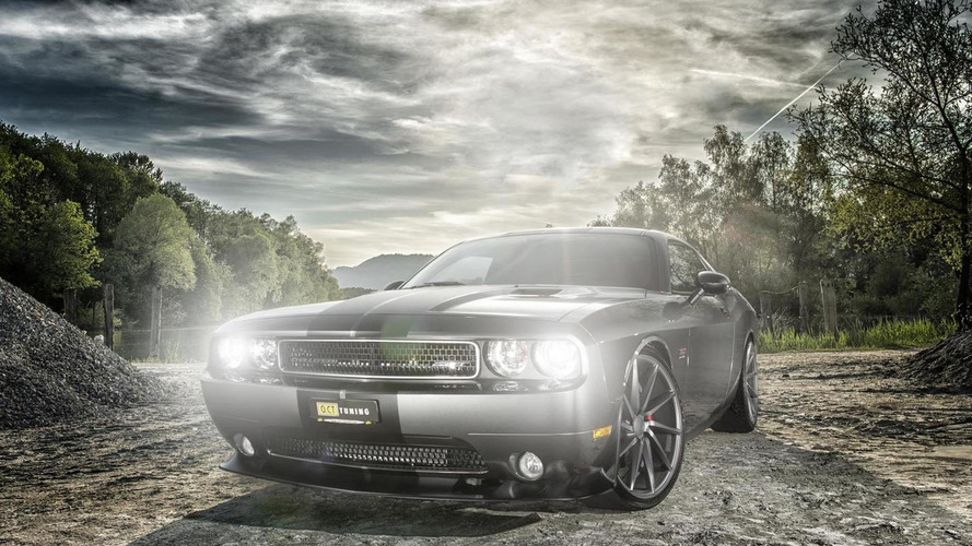 Jeep Grand Cherokee SRT8 and Dodge Challenger SRT8 tweaked by O.CT Tuning