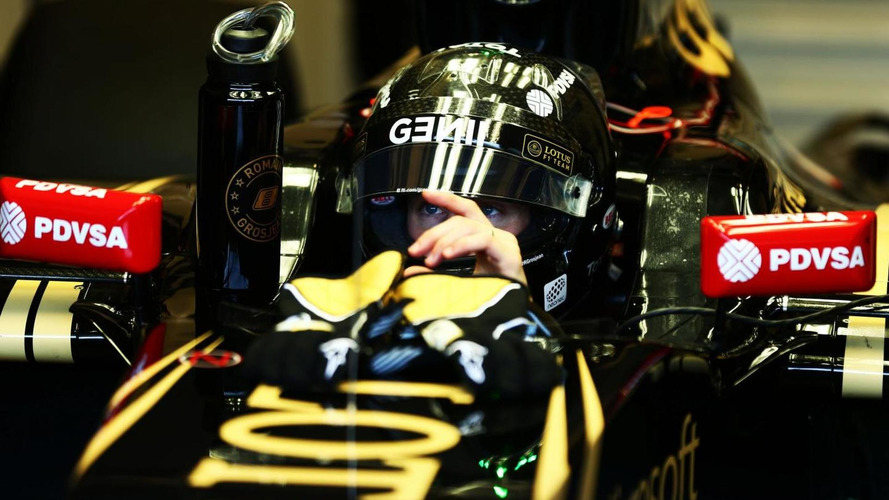 Grosjean not expecting winning Lotus in 2015
