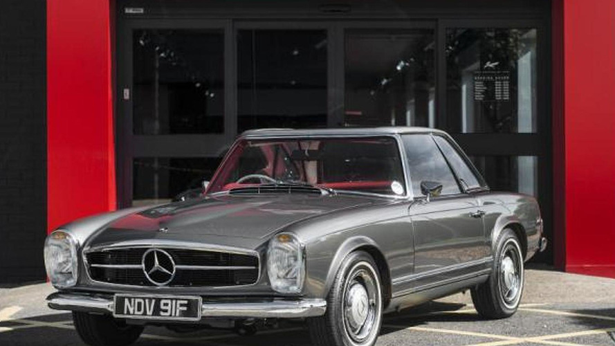 Mint condition 1967 Mercedes-Benz 250 SL for sale is a thing of beauty