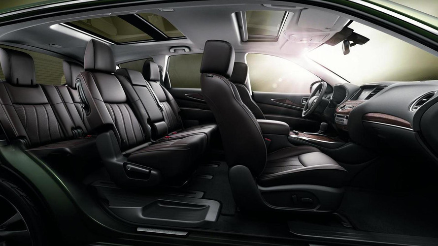 2013 Infiniti JX (Concept) revealed at Pebble Beach [video]