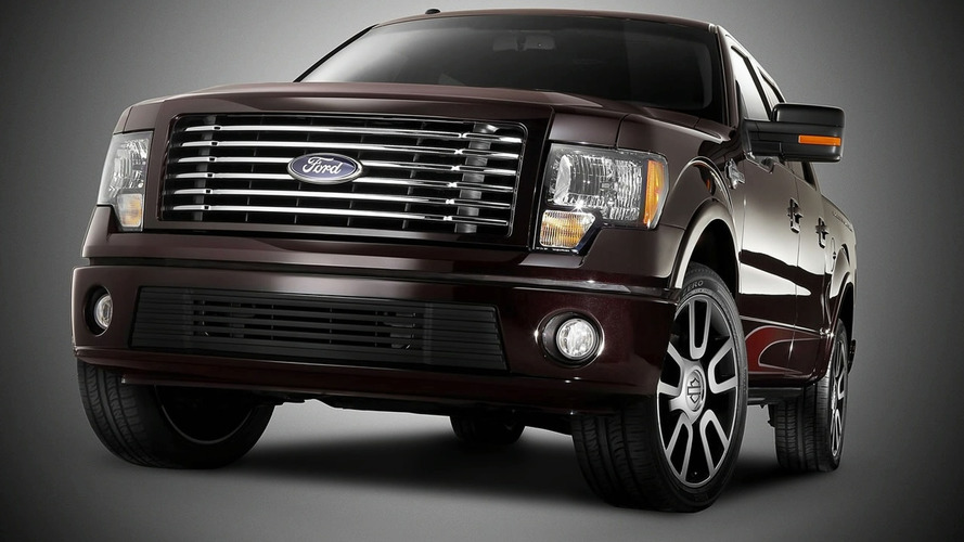 2010 Ford F150 Harley Davidson Edition Powering into Chicago