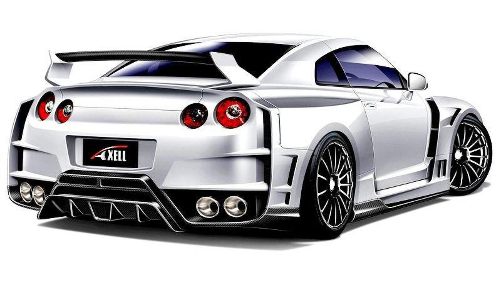 Axell Auto previews widebody kit for Nissan GT-R
