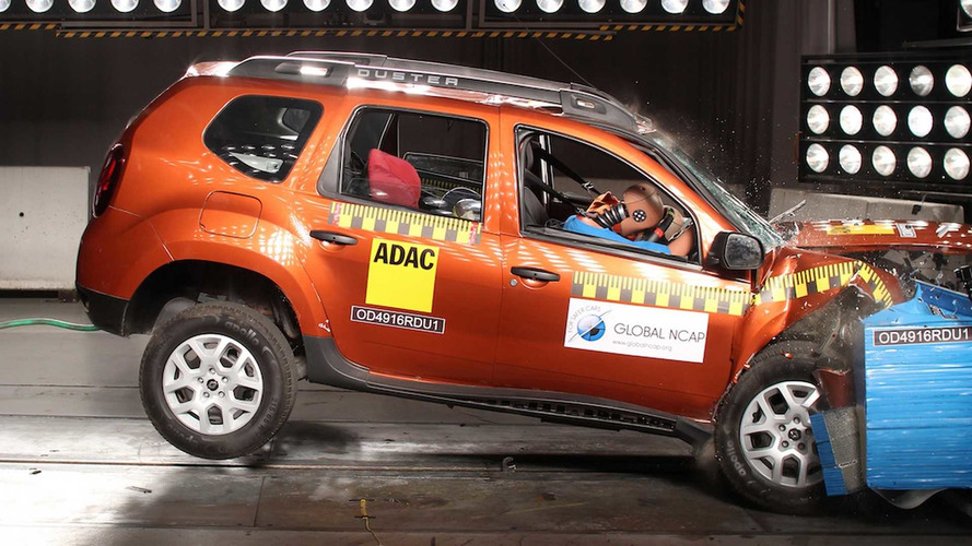 Global NCAP - Renault Duster indiano é o mais inseguro do mundo