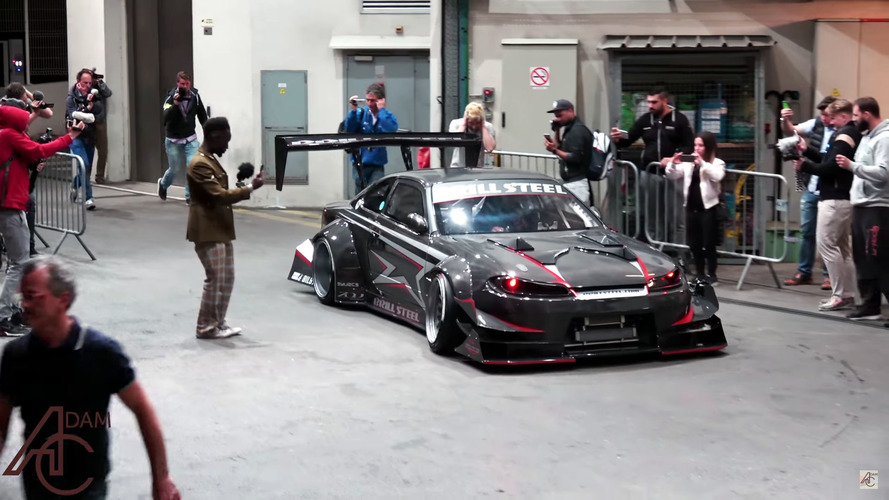 Hear This LS-Swapped Nissan Silvia Disturb The Peace In Monaco