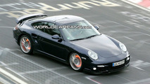 Porsche 911 Turbo Facelift Spied