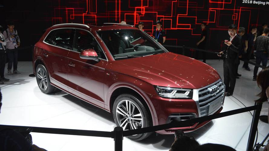 Audi Q5 L Stretches Out In Beijing With