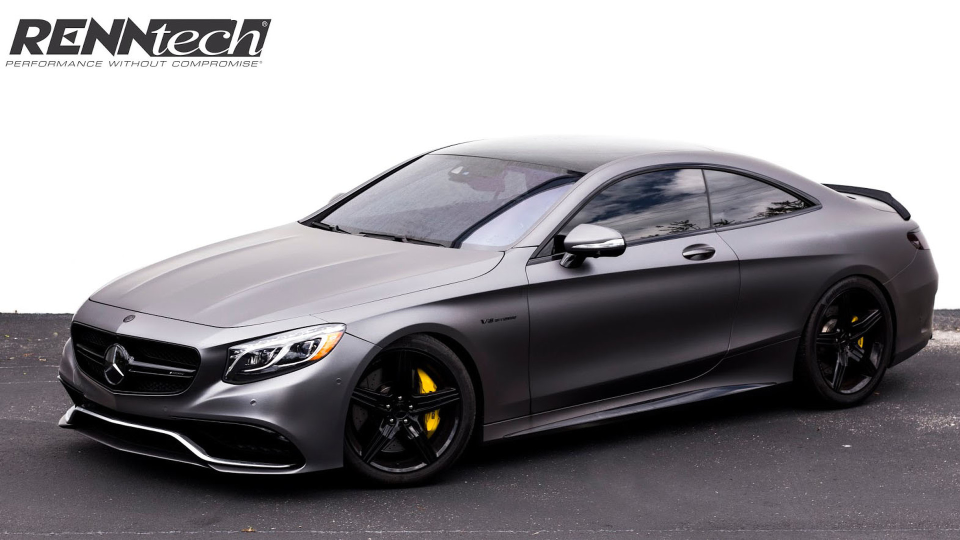 Renntech bumps the mercedes s63 amg coupe to 708 hp for Mercedes benz s63 amg coupe