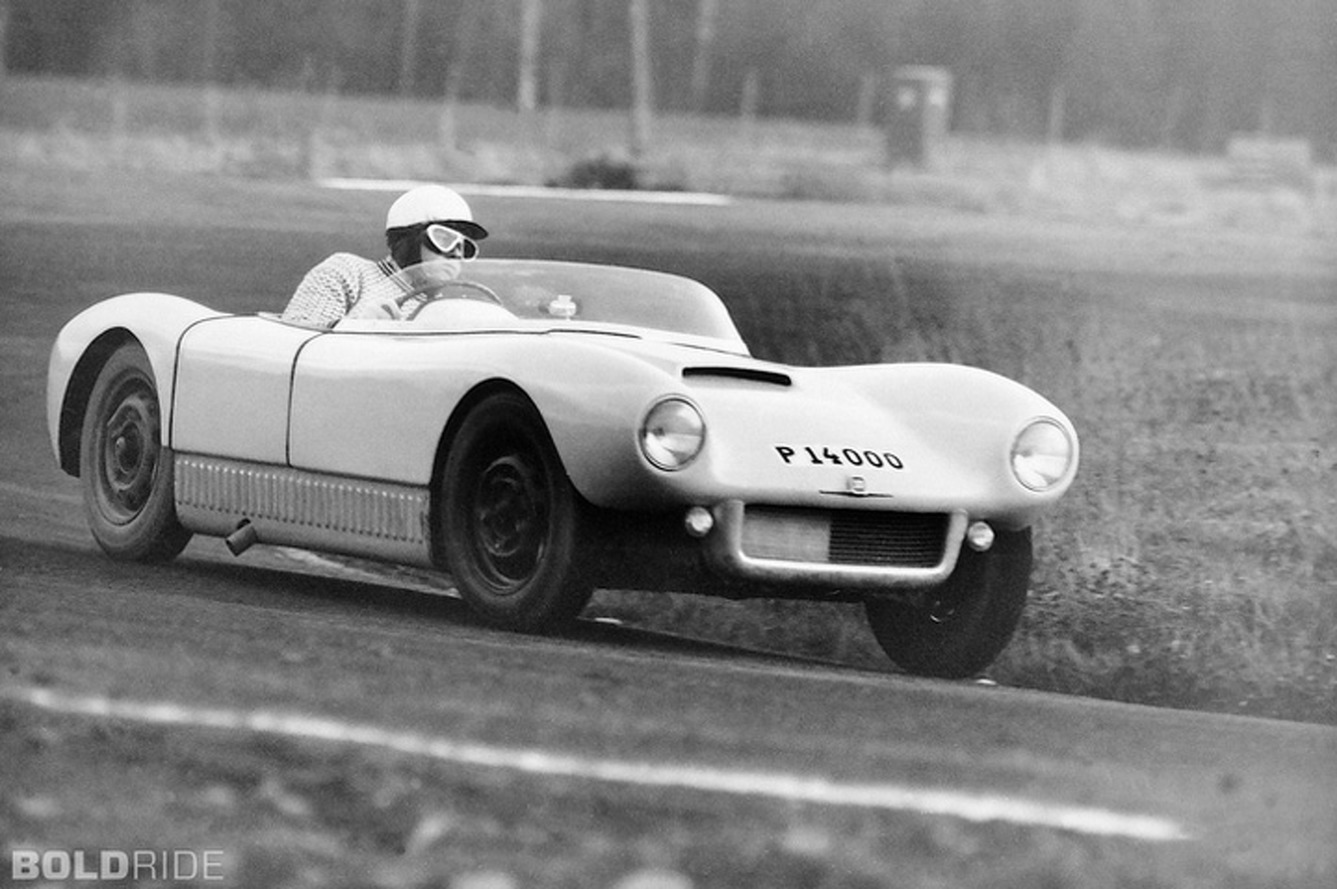 The Saab Sonett I: Saab's Audacious First Race Car