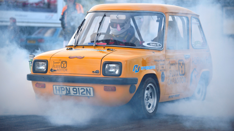 Tiny British car from the 70's sets quarter-mile record