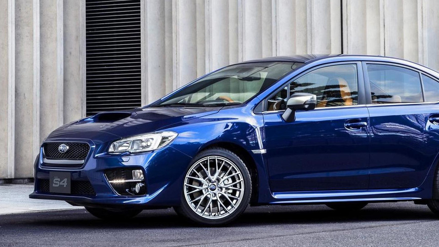 Subaru launches more luxurious WRX S4 SporVita in Japan