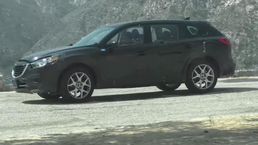 2017 Mazda CX-9 spied virtually undisguised [video]