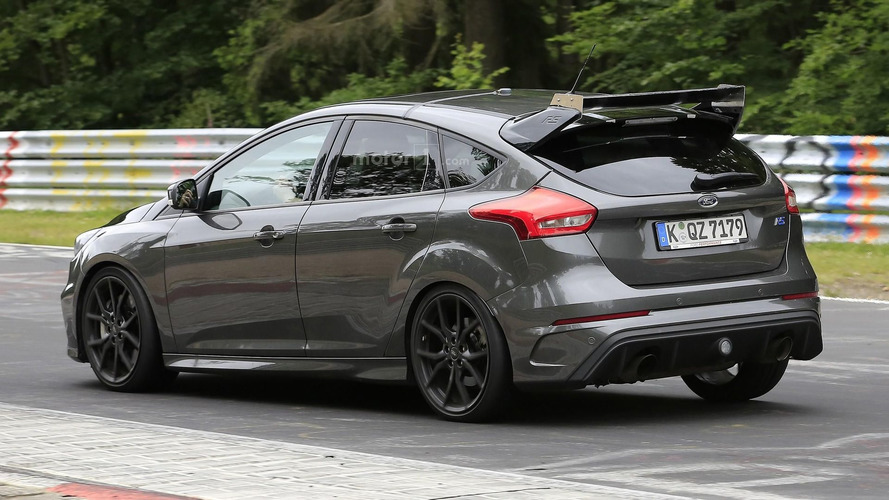 Possible Ford Focus RS500 hits the Ring with bigger rear wing