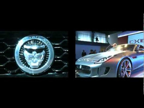 2011 Jaguar C-X16 Concept Reveal Highlights