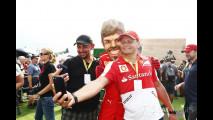 Vettel e Ferrari - agosto 2017