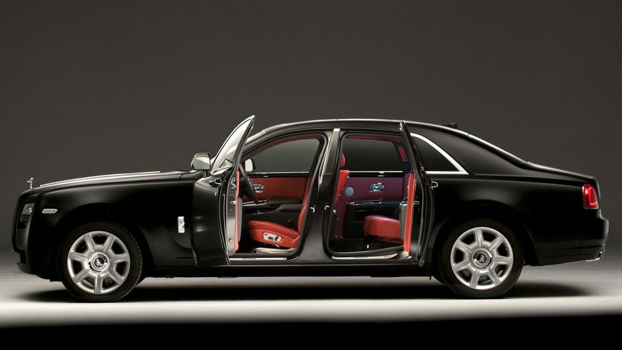 Rolls-Royce Ghost customization proves to be popular