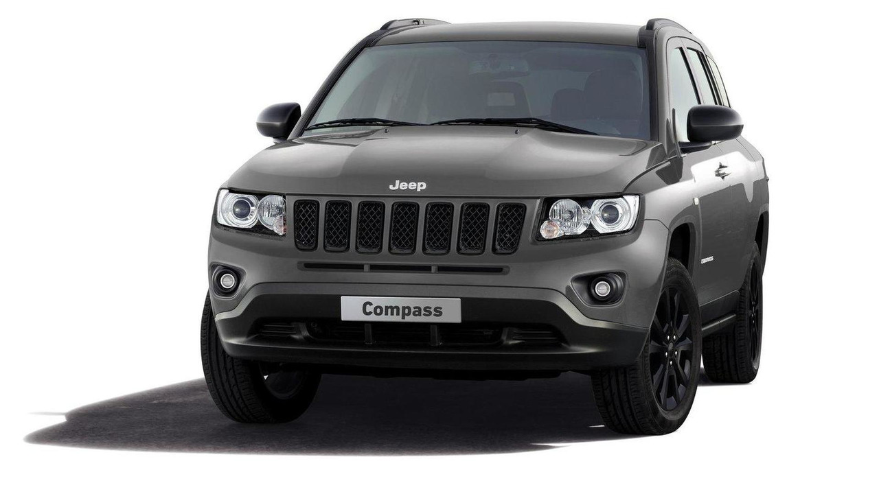 Jeep Compass black look concept initial photo 20.02.2012