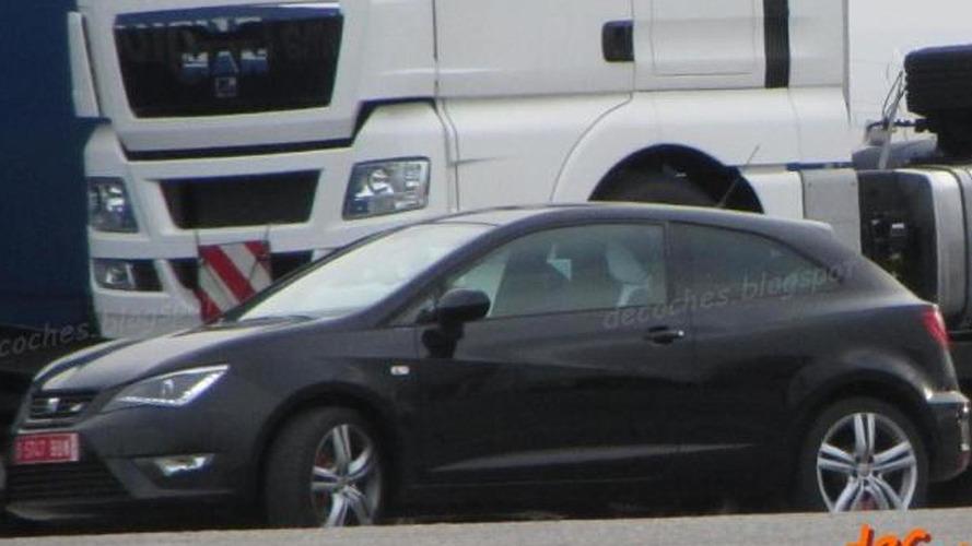2013 Seat Ibiza Cupra spied undisguised