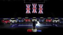 MINI horn orchestra plays British national anthem [video]