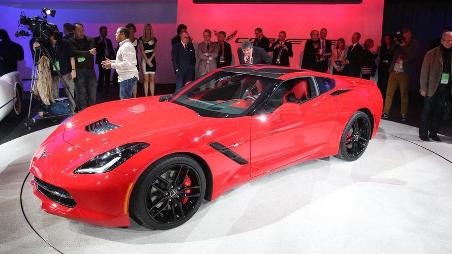 2014 Chevrolet Corvette Stingray costs 61,495 GBP