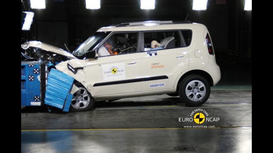 5 Stelle Euro NCAP per Kia Soul