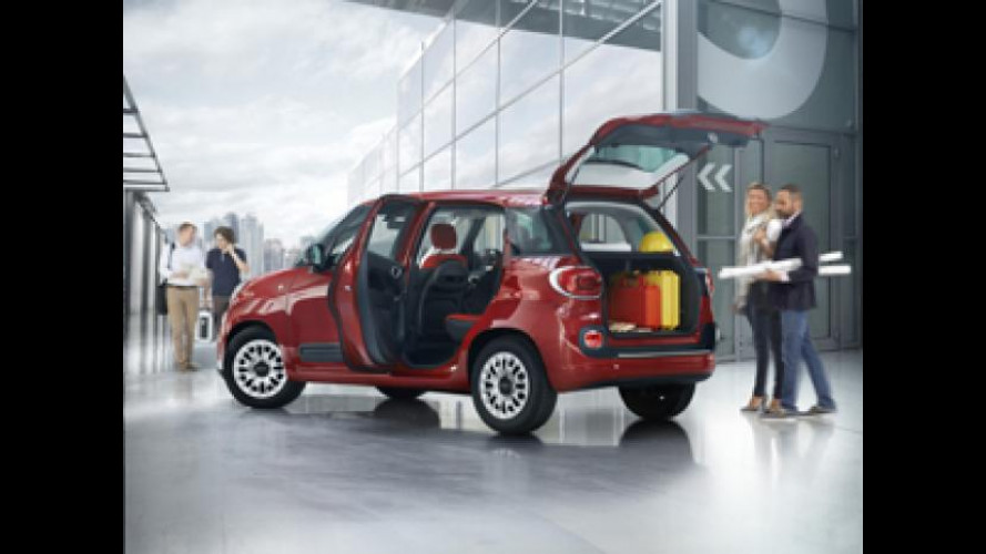 Fiat 500L diventa Pro per i professionisti