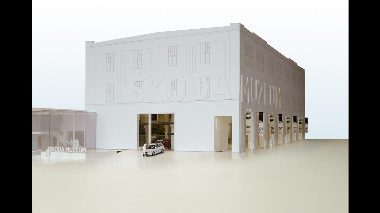 Skoda: il concept del museo