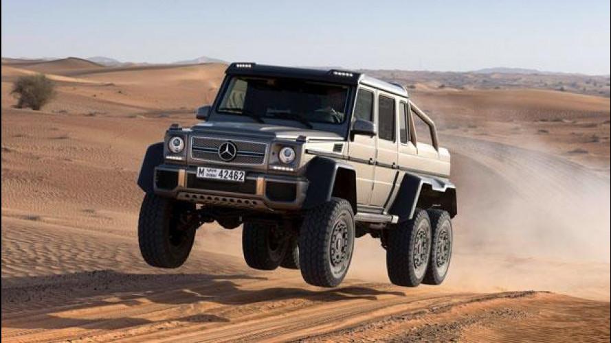 Mercedes G63 AMG 6x6: è ora di aggredire le dune