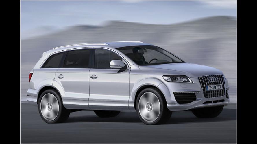 Audi gibt Preise für Q7 V12 TDI und RS6 Limousine bekannt