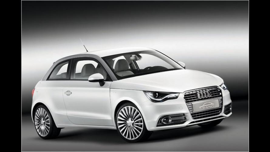 Audi A1 e-tron startet zu Modellversuch in München