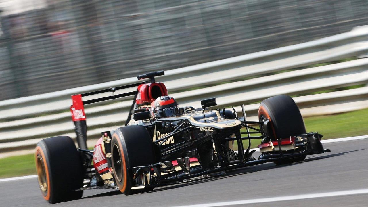 Kimi Raikkonen 06.09.2013 Italian Grand Prix Practice Day