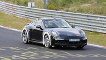 Spy video shows unknown Porsche 911 prototype testing, could be the Carrera 4 GTS